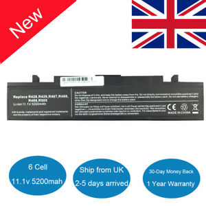 Laptop Battery for Samsung AA-PB9NC6B R428 R519 R580 R730 R780 NP-R530 NP-RV510