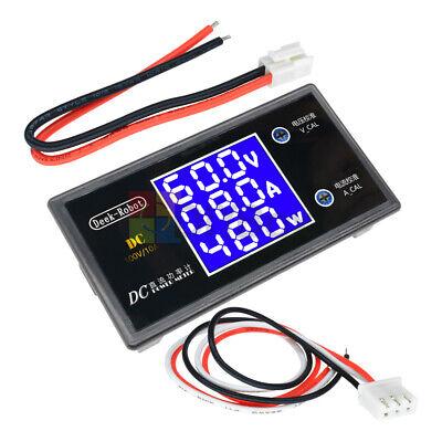 Dc 100v 10a 1000w Lcd Digital Voltmeter Ammeter Voltage Current Volt Power Meter