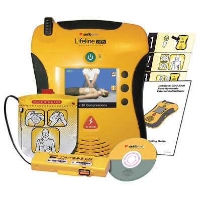 Defibtech Lifeline View Semi-automatic Aed Standard Package Dcf-a2310rx