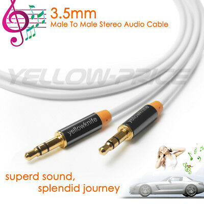 Aux Cable 6ft Long - Shielded Cord - 3.5mm Male to Male Auxiliary Audio Cable ()