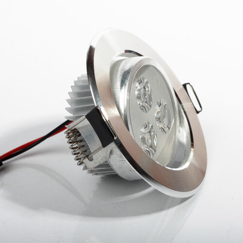Dimmable Led Ceiling Light Fixture: Dimmable 3W/5W LED Ceiling Light Recessed Fixture