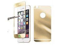 New Mirror Front & Back iPhone 6 plus TEMPERED GLASS PROTECTOR