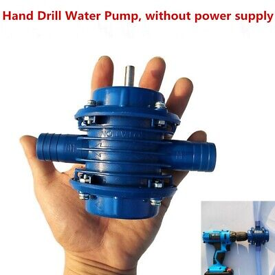 Self-priming Hand Drill Water Pumps Garden Courtyard Fish Tank Household Pump GW