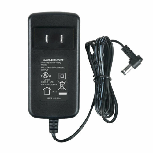 AC Adapter For CND LED LIGHT Lamp Professional Shellac LED Dryer 3C JP3600 O9200