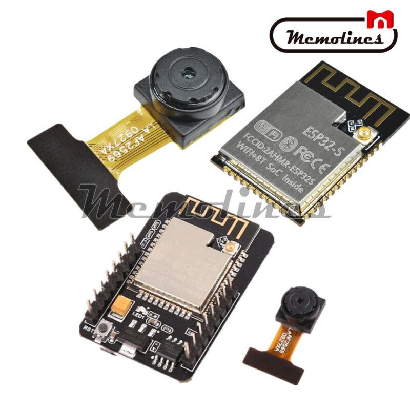 """5v Esp32-cam Development Board Esp32-s Wifi Bluetooth Ov2640 1/4""""2.0mp Camera"""