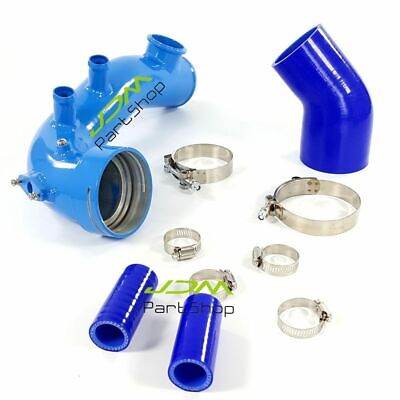 High Flow Intake Air Charge Pipe+Tial Flange For BMW N54 E88 E90 E92 135i 335