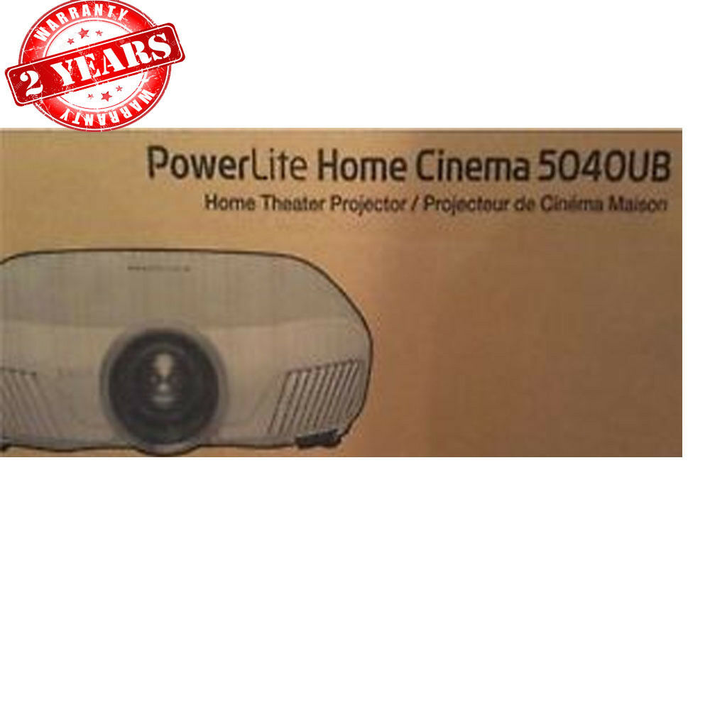Epson PowerLite Home Cinema 5040UB Full HD 3LCD Projector