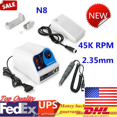 45k Rpm Motor Handpiecemicromotor N8 Dental Electric Polisher Kit Lab Equipment