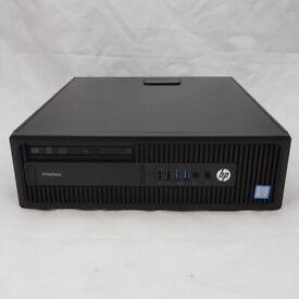 HP EliteDesk 800 G2 SFF Core i7-6700 3.40GHz 8GB RAM 256GB SSD Win 10 PC