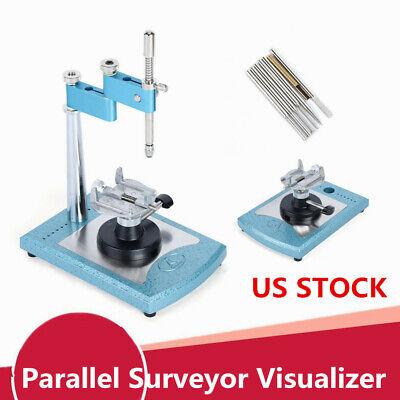 Professional Adjustable Dental Lab Parallel Surveyor Visualizer Spindle Device