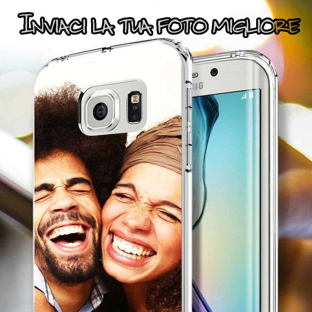 COVER MORBIDA GEL CON FOTO, IMMAGINE O SCRITTA PERSONALIZZATA PER APPLE IPHONE X