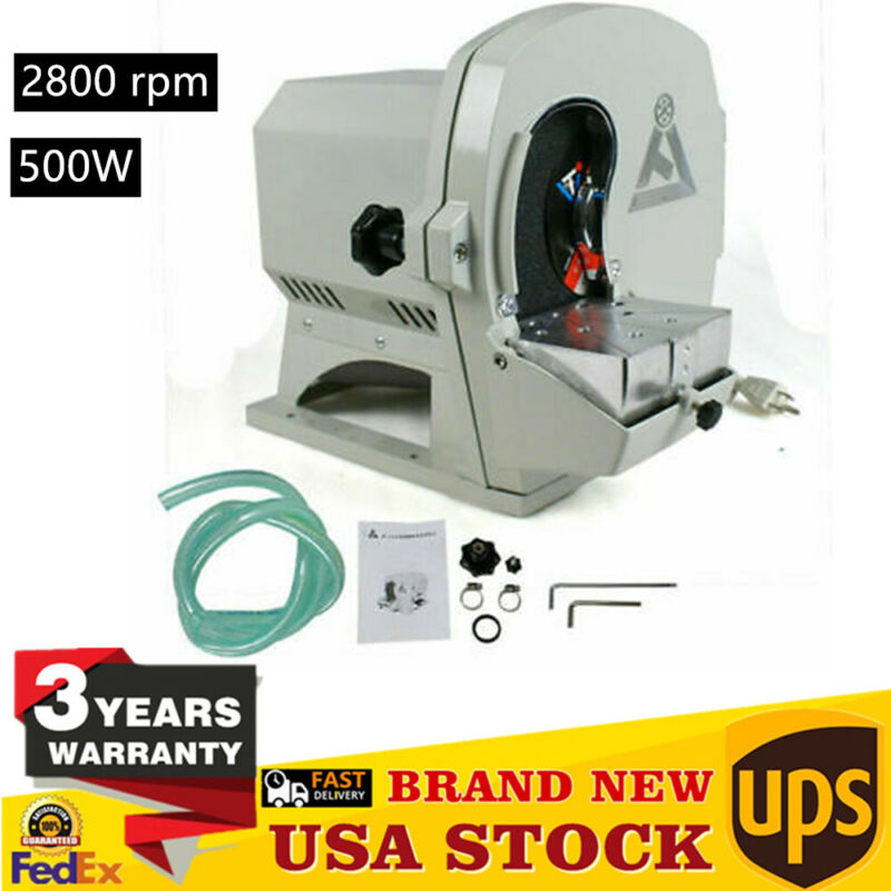 Dental Lab Wet Model Trimmer Abrasive Machine Gypsum Arch Inner Disc Wheel New !