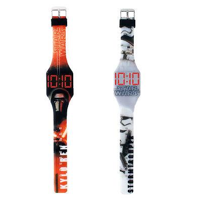 Disney Design Star Wars LED Uhr Kylo Ren Stormtrooper große Digitalanzeige