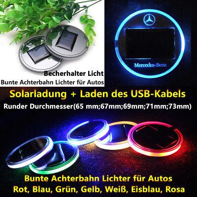 2 Stück Sonnenatmosphäre Licht für Benz geändertes Zubehör Autozubehör Autoteile