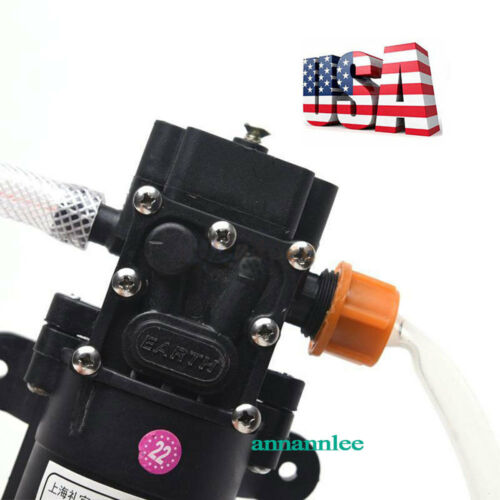 12V Motor Oil Diesel FUEL Fluid Extractor Electric Siphon Transfer Change Pump