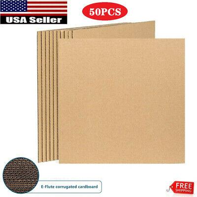 50pcs 12.25 X 12.25 Insert Pads Lp Record Mailer Filler Pad Scrapbook Catalog
