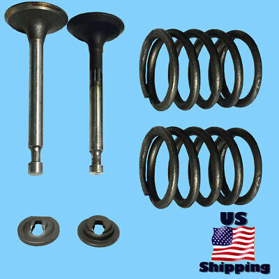 Valve Kit For Troy-bilt Cub Cadet 179cc 208cc 212cc 951-10647a Intake Exhaust