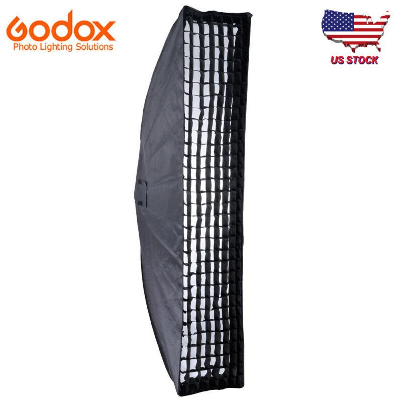 US Stock Godox 35*160cm Grid Honeycomb Softbox Bowens Mount for Studio Flash
