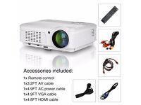 WXGA Home Cinema Projector/3200LM (Brand New- Barely used)