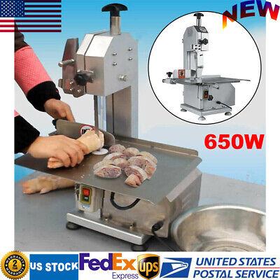 650w Commercial Electric Bone Saw Machine Frozen Meatfish Cutting Machine 110v