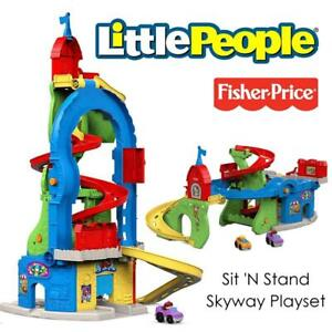 NEW Fisher-Price Little People Sit N Stand Skyway Playset Condtion: New, Standard Packaging, No Shipping