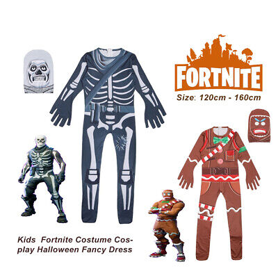 Kinder Fortnite Kostüm Cosplay Halloween Kostümfest Overall - Fortnite Kostüme