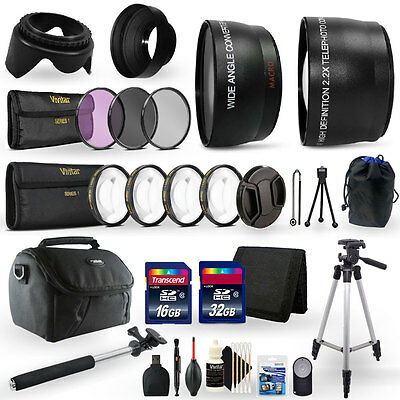 48GB Top Accessory Kit for Canon EOS T6 / 1300D  Digital SLR Camera