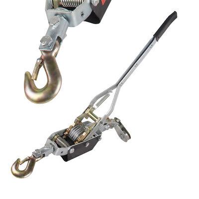 Usa4ton 8000lb Winch Puller Hand Puller Come Along Hoist Ratcheting Crane
