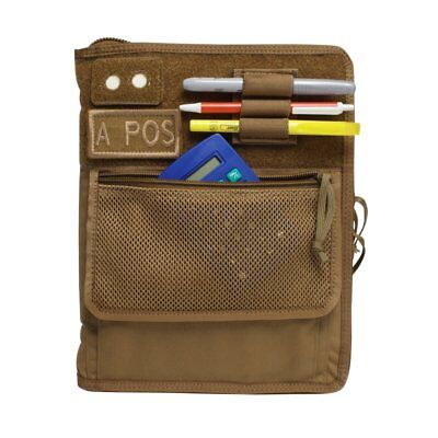 - Tactical 3-Ring Binder Cover System (For 6x9 paper), Coyote Brown