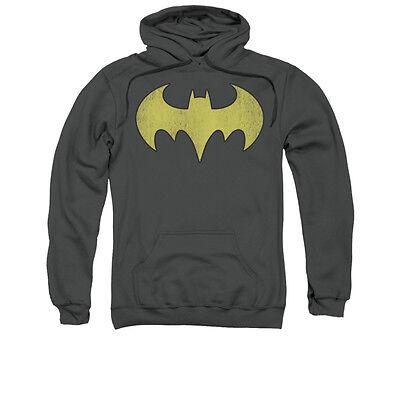 DC COMICS BATGIRL LOGO Licensed Adult Pullover Hooded Sweatshirt Hoodie SM-3XL (Batgirl Hoodie)