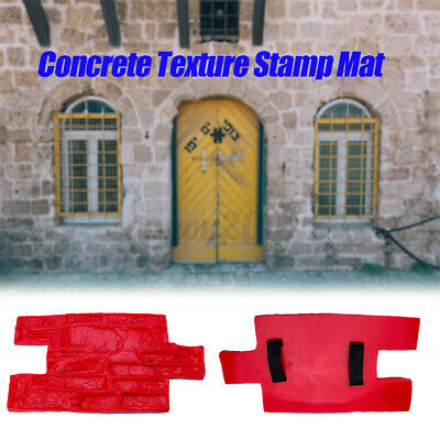 Vertical Wall Stamp Stone Decorative Concrete Cement Imprint Texture Stamp Mat