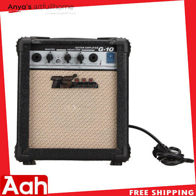 High-Peformance GT-10W Guitar Amplifier Black for Acoustic and Electric Guitars