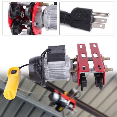 500kg Electric Push Beam Trolley W I-beam Links Fast Material Cranes Hoists