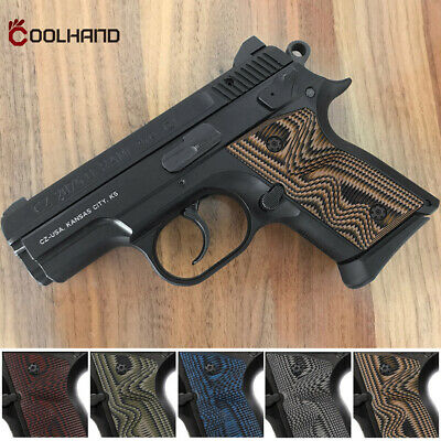 Coolhand G10 Gun Grips for CZ 2075 RAMI & RAMI BD Decocker Model Hold in Texture