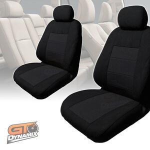 Custom made BLACK Seat Covers F+R to Suit TOYOTA HILUX SR5 + SR 03/2005-2015 PR