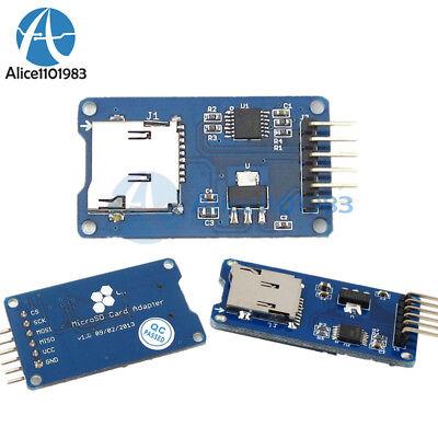 12510pcs Micro Sd Tf Card Memory Shield Module Spi Storage Board For Arduino