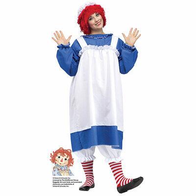 Plus Size Rag Doll Halloween Costumes (Womens Raggedy Ann Plus Size Halloween Costume sz)