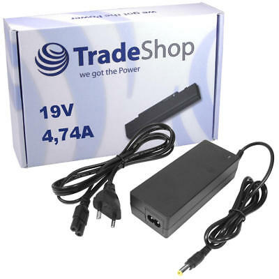 Netzteil Ladegerät Ladekabel 19V 4,74A für ASUS K93sv Pro50 Pro55 Pro55s X5dab