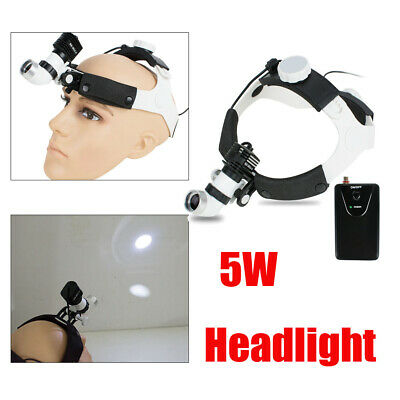 5w Dental Surgery Led Medical Surgical Headlight Headlamp Examination For Ent