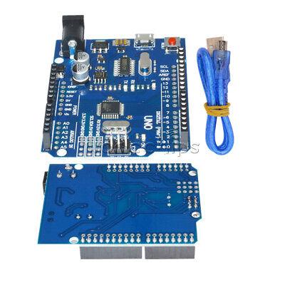 Latest Version Arduino Uno R3 Ch340g Atmega328p-16au Micro Usb Cable Diy Kit