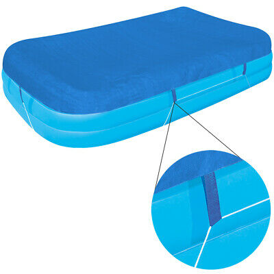 Bestway Cubierta de piscina 262x175x51cm lona protección suciedad cobertor