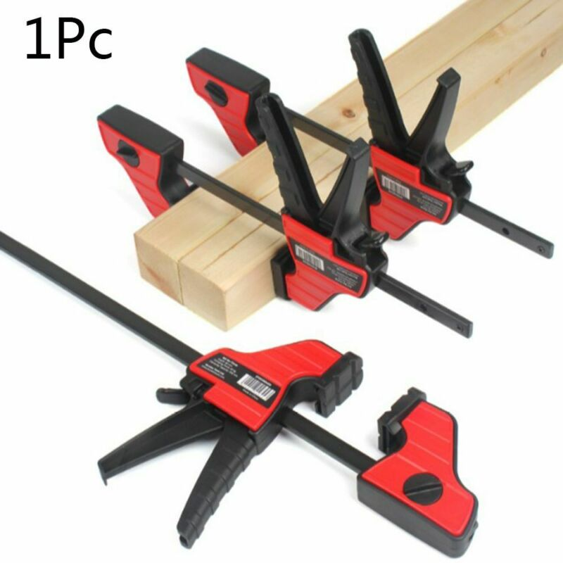 4 Inch Wood Working Bar F Clamp Grip Ratchet Release Squeeze