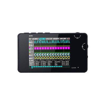 La104 Handheld 4-channel Logic Analyzer 100mhz 8mb Memory 2.8 Display Us Stock
