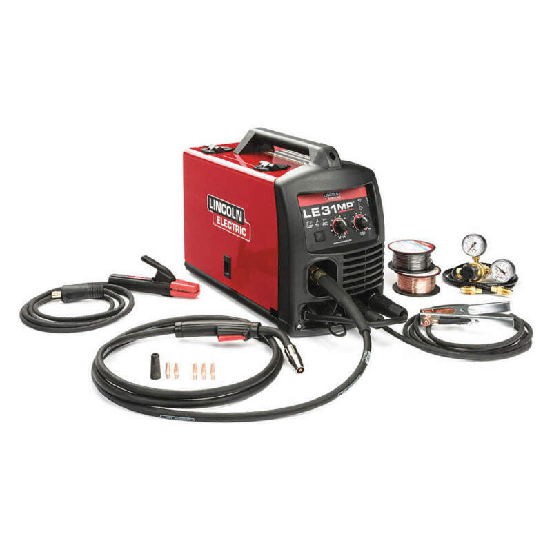 LINCOLN ELECTRIC K3461-1 Multiprocess Welder,Phase 1,120V Input