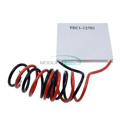 10pcs Tec1-12703 Heatsink Thermoelectric Cooling Cooler Peltier Plate Module
