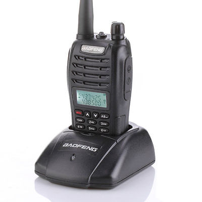 Brand New Baofeng 2014 Newest UV-B6 Dual Band VHF and UHF Walkie Talkie, 5-watt