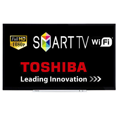 """Toshiba 32L3753DB 32"""" Smart LED TV Full HD 1080p Unit Only With Power Lead"""