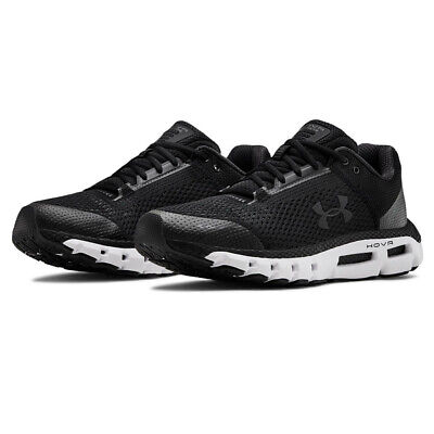 Under Armour Mens HOVR Infinite Running Shoes Trainers - Black Sports Breathable