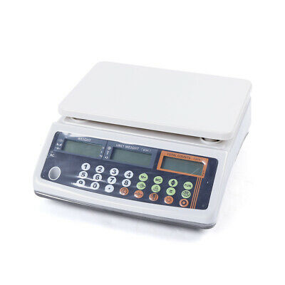 66lb X 0.002lb Digital Scale Shipping Postage Kitchen Counting 30kg Weight 110v