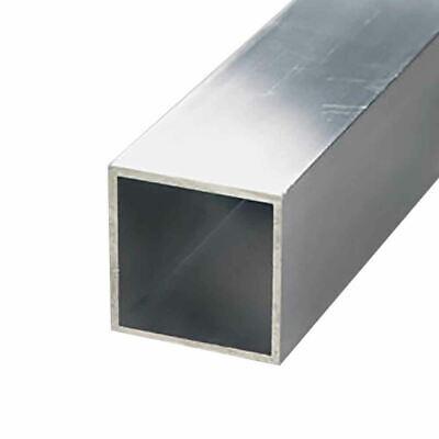 6063-t52 Aluminum Square Tube 1-14 X 1-14 X 116 Wall X 72 Long